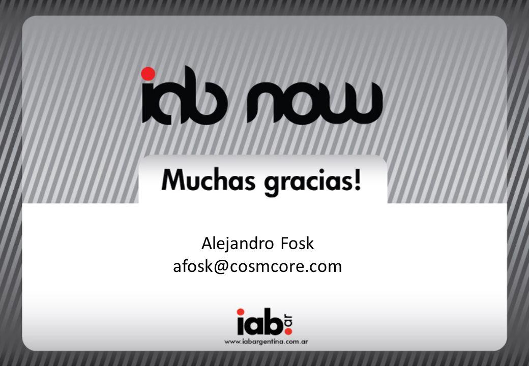 Alejandro Fosk afosk@cosmcore.com