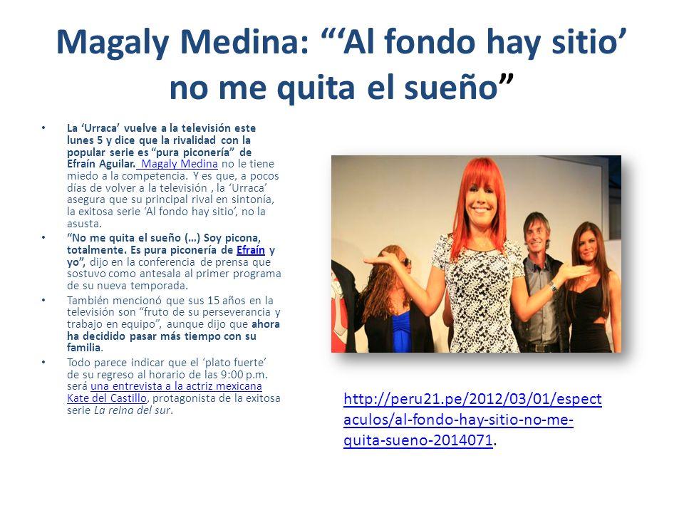 Tras quince años en la pantalla, Magaly TeVe dice adiós http://entretenimiento.terra.com.pe/tv- famosos/tras-quince-anos-en-la-pantalla-magaly- teve-dice- adios,4ae0fc323ffc5310VgnVCM20000099f154d0 RCRD.html?vgnextfmt=fmtE xpandedPics#