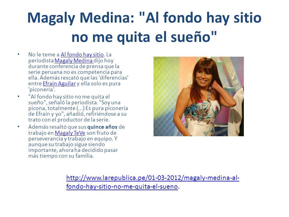 Magaly Medina: La vida me puso al lado de Gisela Valcárcel La popular conductora de televisión Magaly Medina contó cómo fue el encuentro en Miami, durante sus vacaciones, con quien hasta hace mucho era considerada su archienemiga: Gisela Valcárcel.