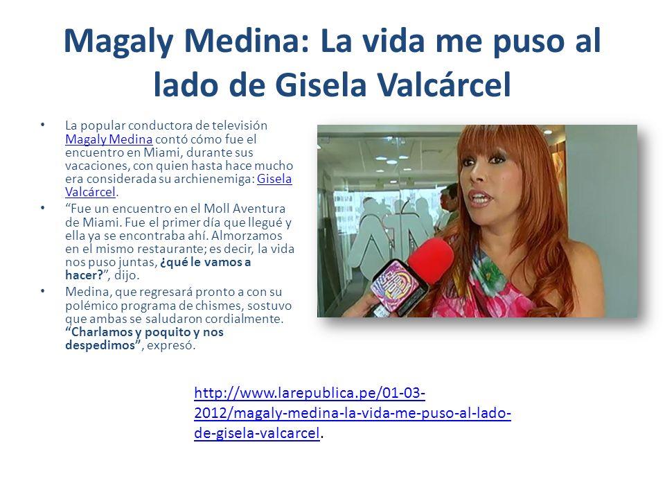 Magaly Medina piensa en cambiar el formato de su programa Está lista para regresar.