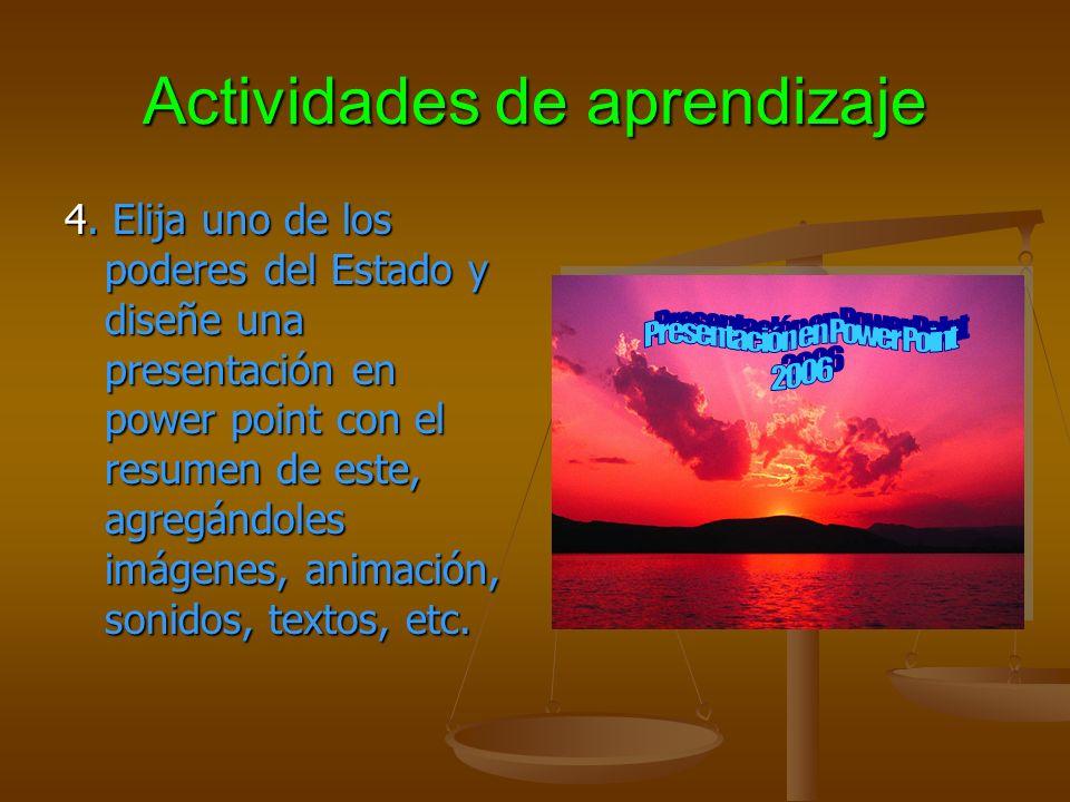 Actividades de aprendizaje 4.