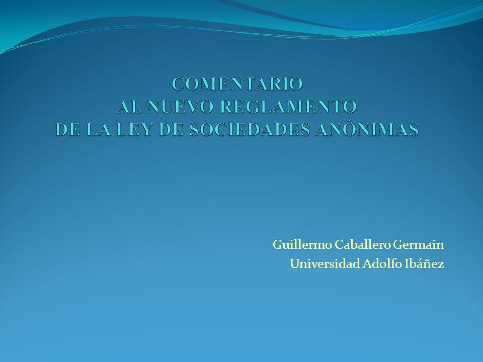 Guillermo Caballero Germain Universidad Adolfo Ibáñez