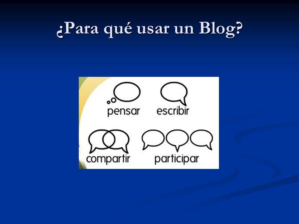 ¿Para qué usar un Blog
