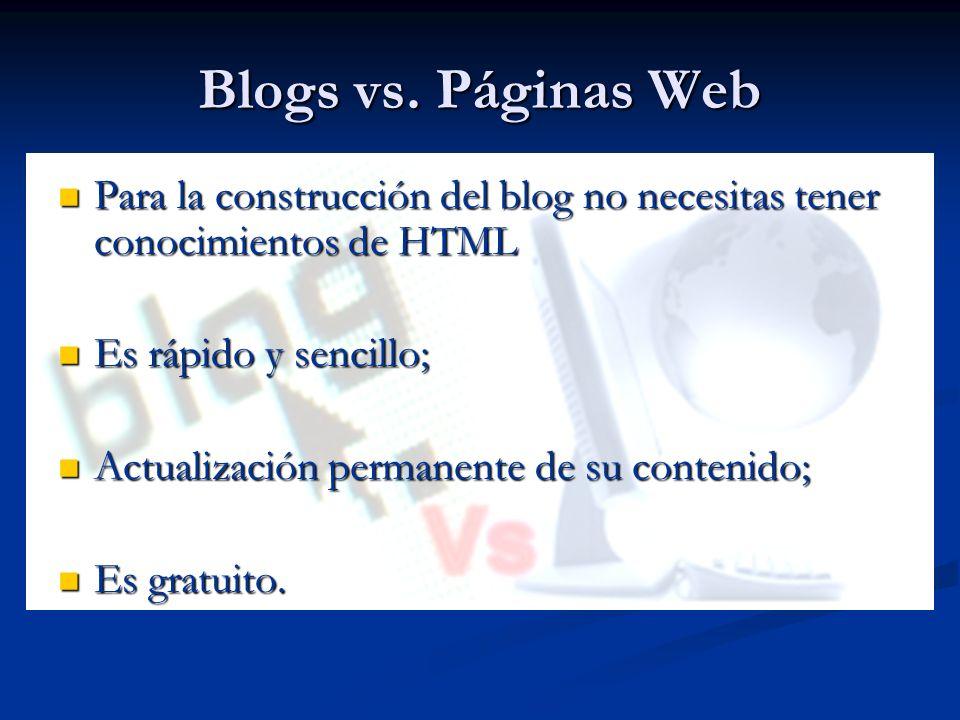 Blog vs.