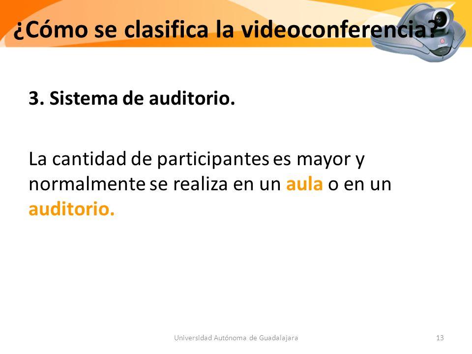 3.Sistema de auditorio.