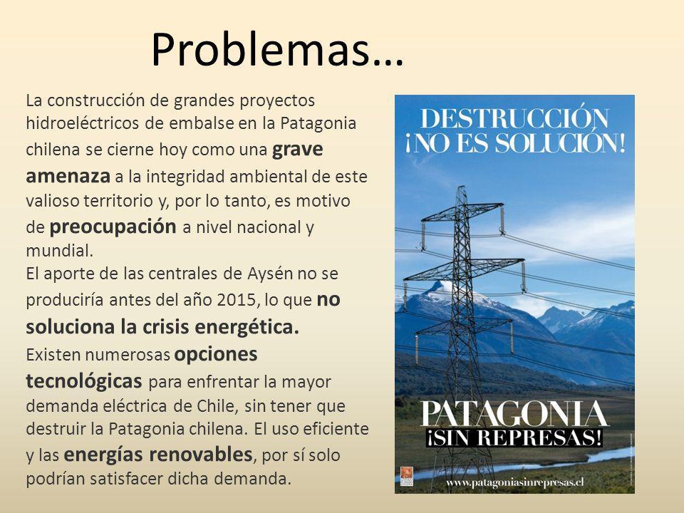 La construcción de grandes proyectos hidroeléctricos de embalse en la Patagonia chilena se cierne hoy como una grave amenaza a la integridad ambiental