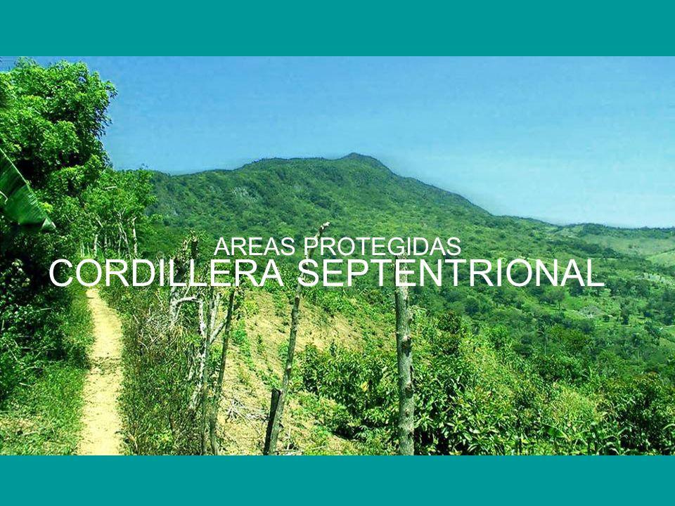 AREAS PROTEGIDAS CORDILLERA SEPTENTRIONAL