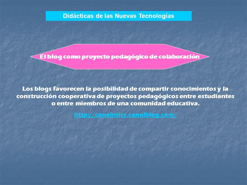 Con las características mencionadas anteriormente los blogs constituyen espacios de información y funcionamiento como la mayor parte de las páginas de