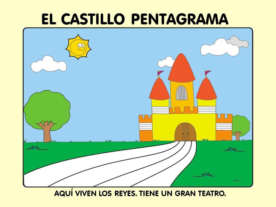 EL CASTILLO PENTAGRAMA AQUÍ VIVEN LOS REYES. TIENE UN GRAN TEATRO.