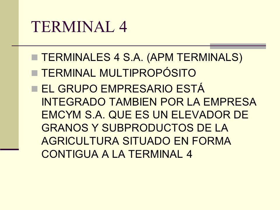 TERMINAL 4 TERMINALES 4 S.A.