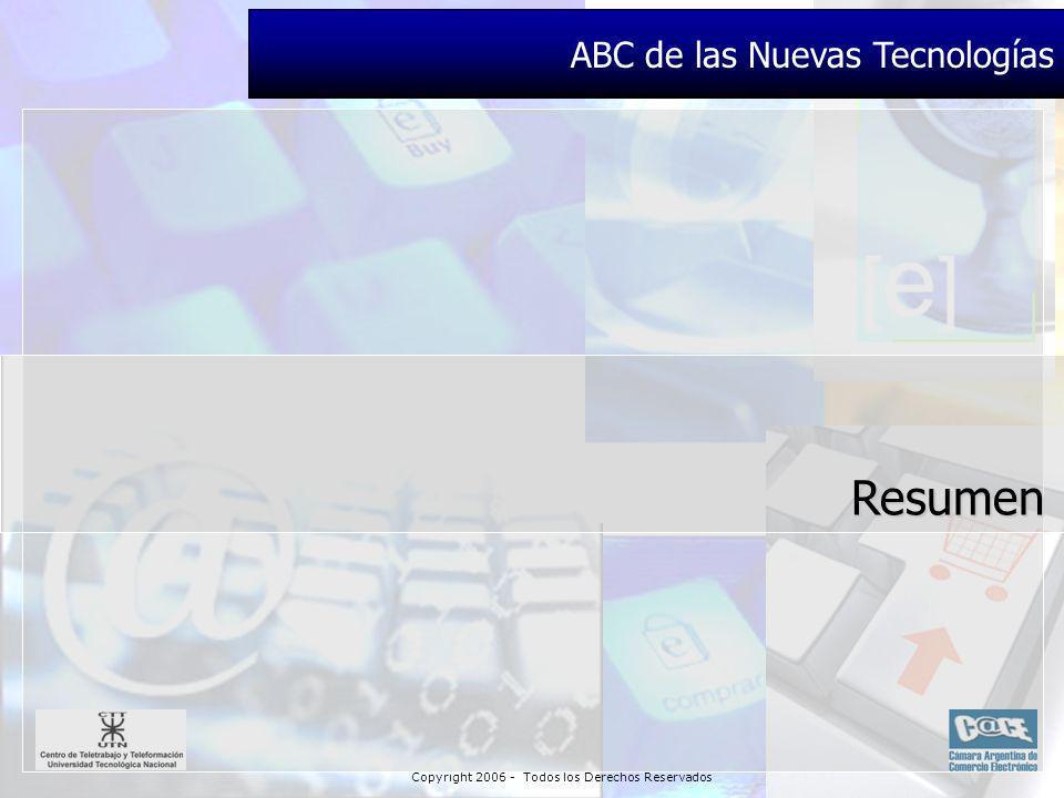 Copyright 2006 - Todos los Derechos Reservados Resumen ABC de las Nuevas Tecnologías