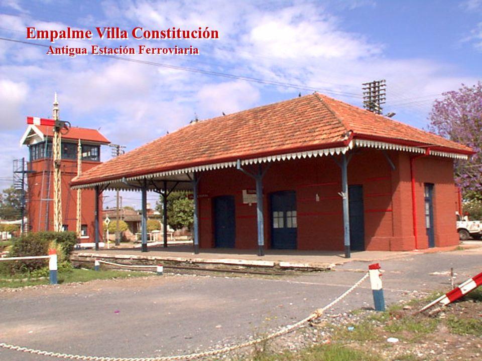 Empalme Villa Constitución Antigua Estación Ferroviaria Empalme Villa Constitución Antigua Estación Ferroviaria