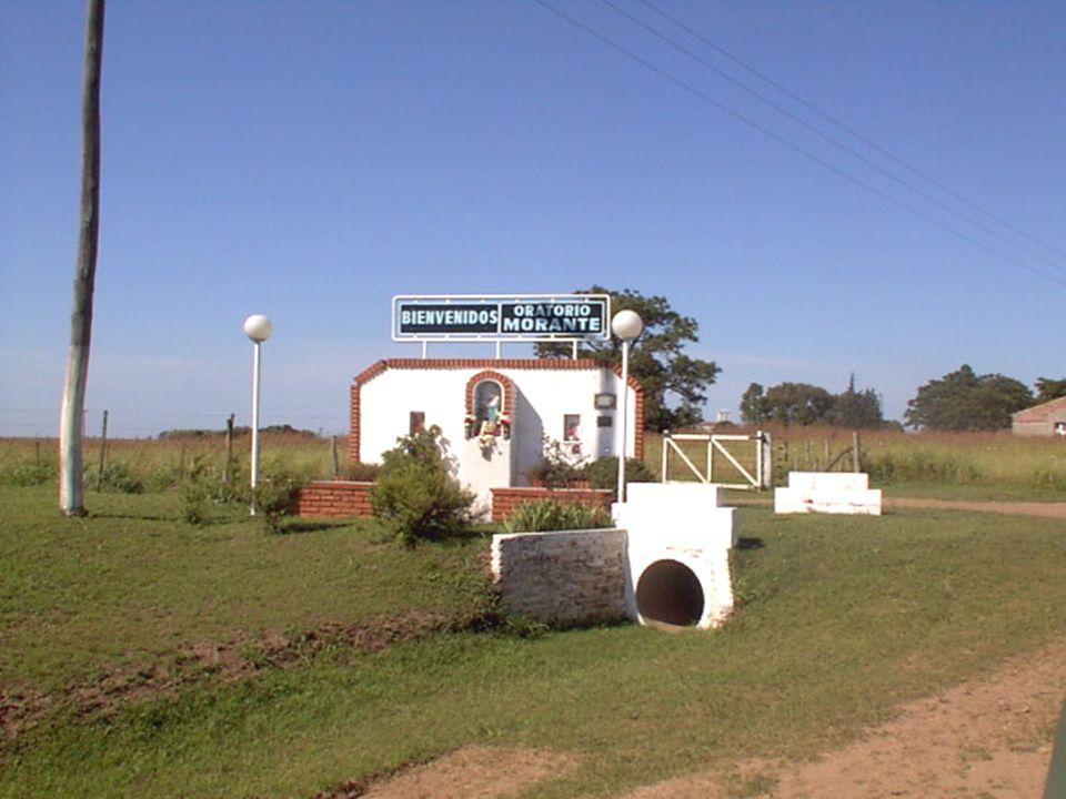 Así llegamos al Oratorio Morante, en la localidad de Godoy, distante aproximadamente a 30 Km. de la ciudades de San Nicolás (Buenos Aires) y de Villa