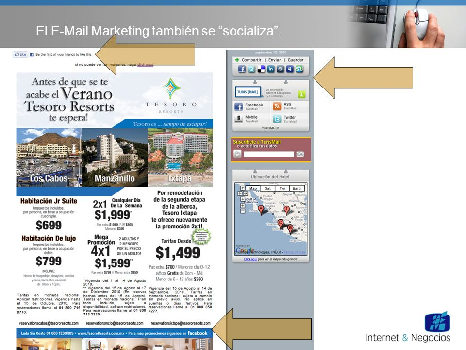 El E-Mail Marketing también se socializa.