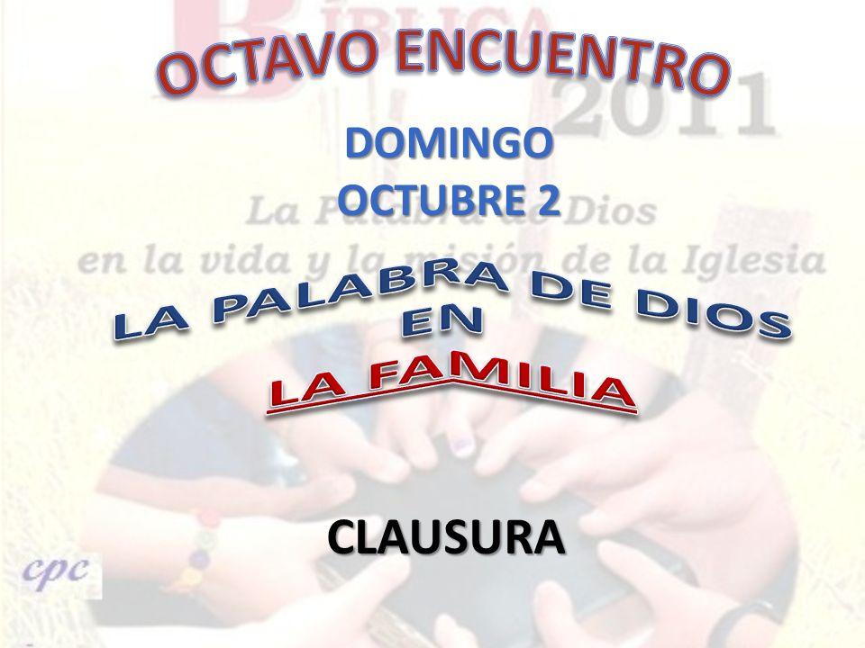 DOMINGO OCTUBRE 2 CLAUSURA
