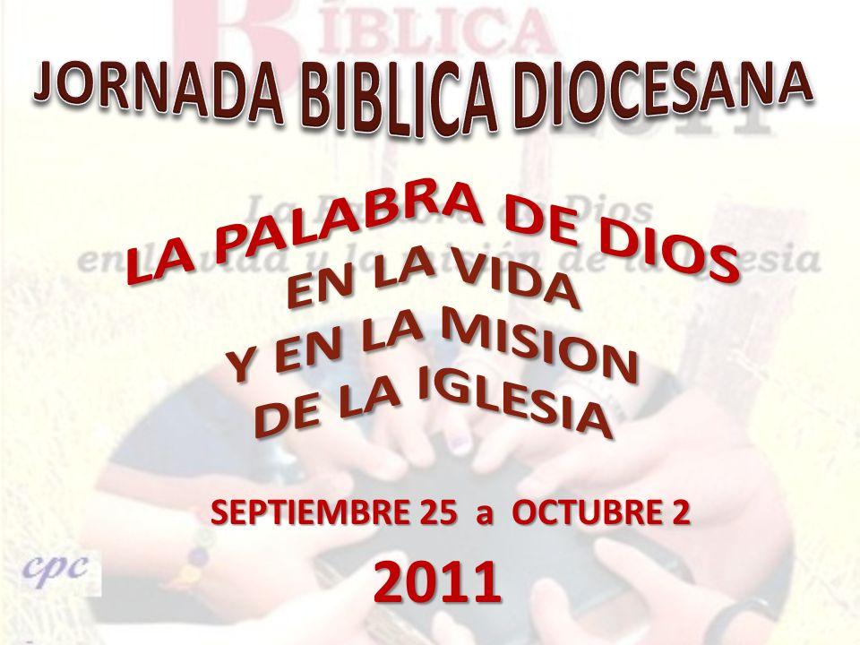 SEPTIEMBRE 25 a OCTUBRE 2 2011