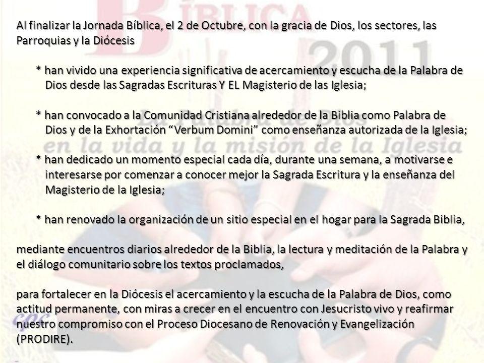 Entronización Sp.25= 0.Entronización de la Biblia Palabra de Dios Catequesis Sp.