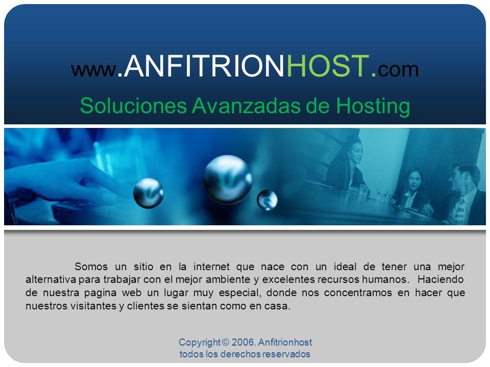 www.ANFITRIONHOST.