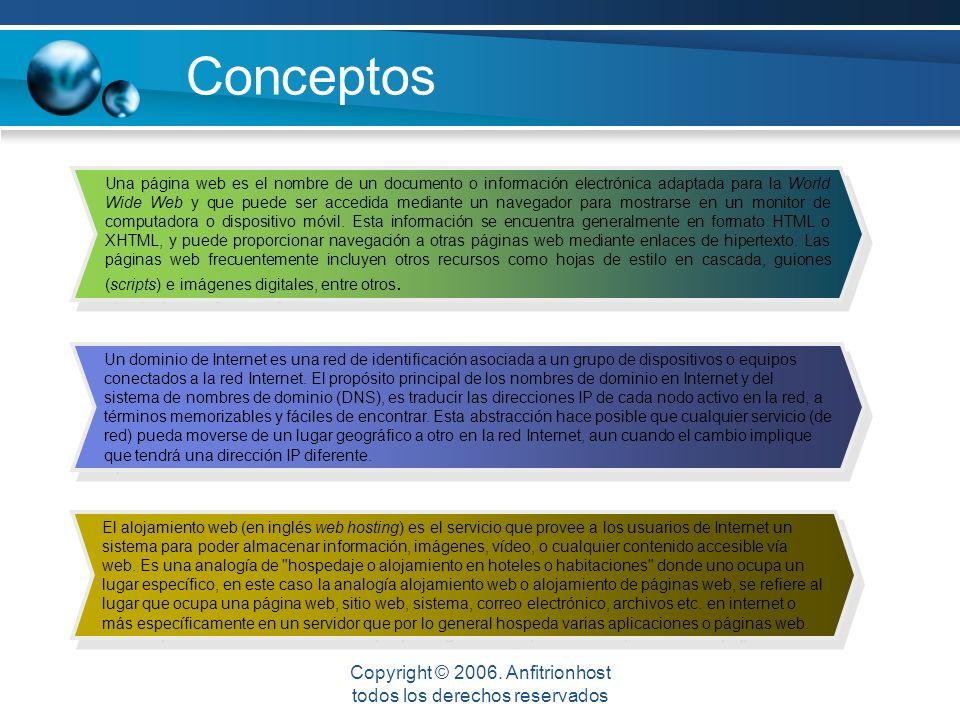 Conceptos Una página web es el nombre de un documento o información electrónica adaptada para la World Wide Web y que puede ser accedida mediante un navegador para mostrarse en un monitor de computadora o dispositivo móvil.