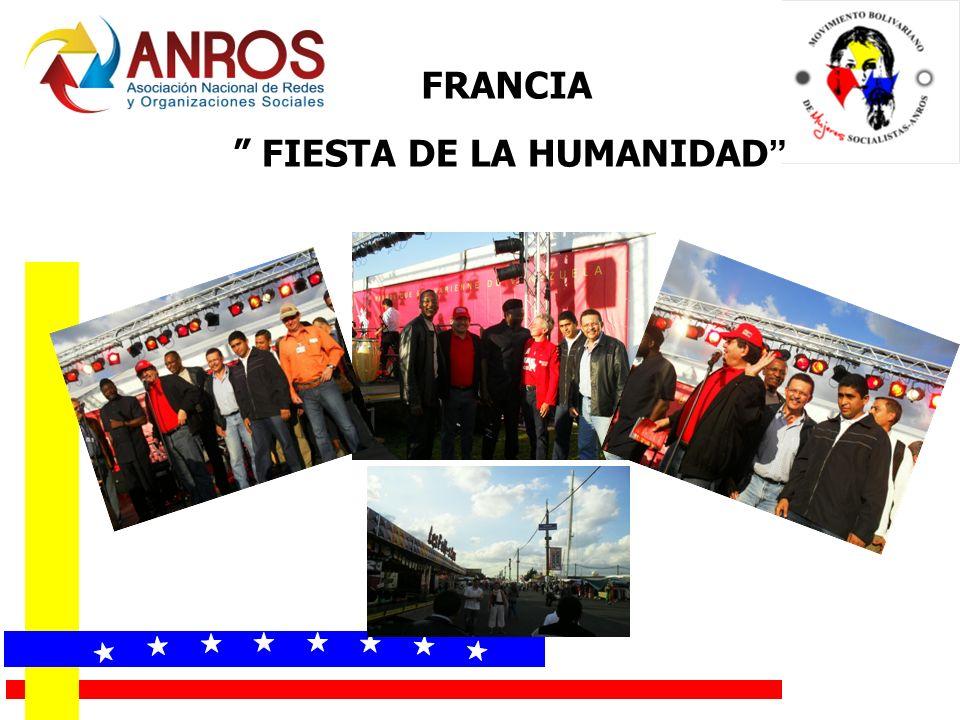 FIESTA DE LA HUMANIDAD FRANCIA