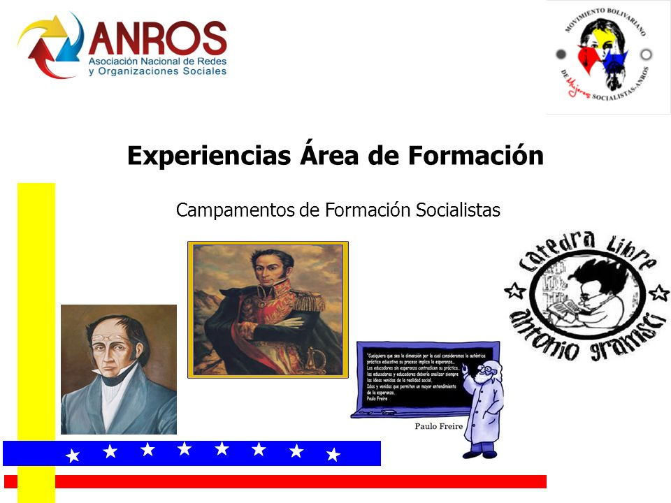 Experiencias Área de Formación Campamentos de Formación Socialistas