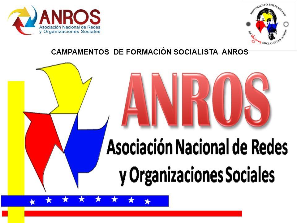 CAMPAMENTOS DE FORMACIÓN SOCIALISTA ANROS
