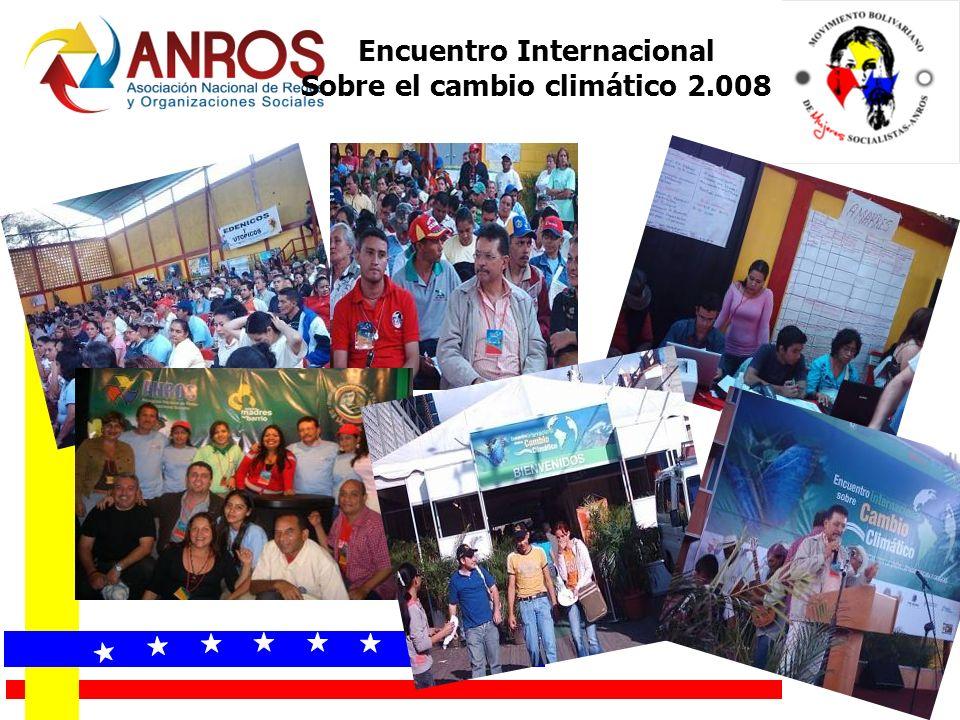 Encuentro Internacional Sobre el cambio climático 2.008