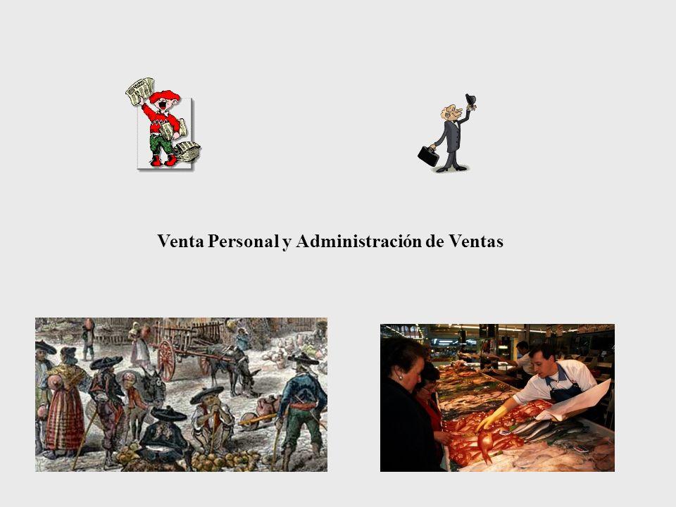 Venta Personal y Administración de Ventas