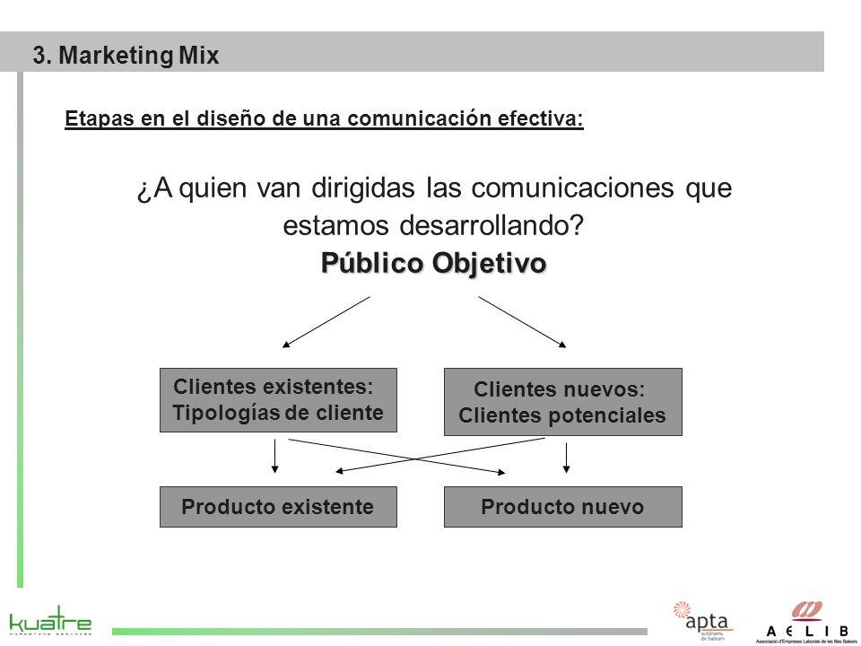 Etapas en el diseño de una comunicación efectiva: ¿A quien van dirigidas las comunicaciones que estamos desarrollando.