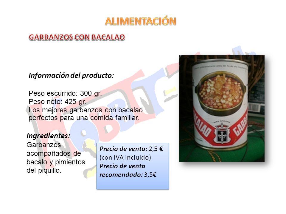 Información del producto: El mejor pote asturiano listo para comer.