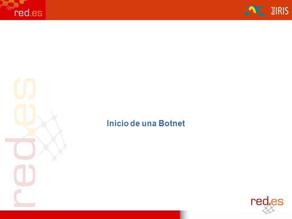 Inicio de una Botnet