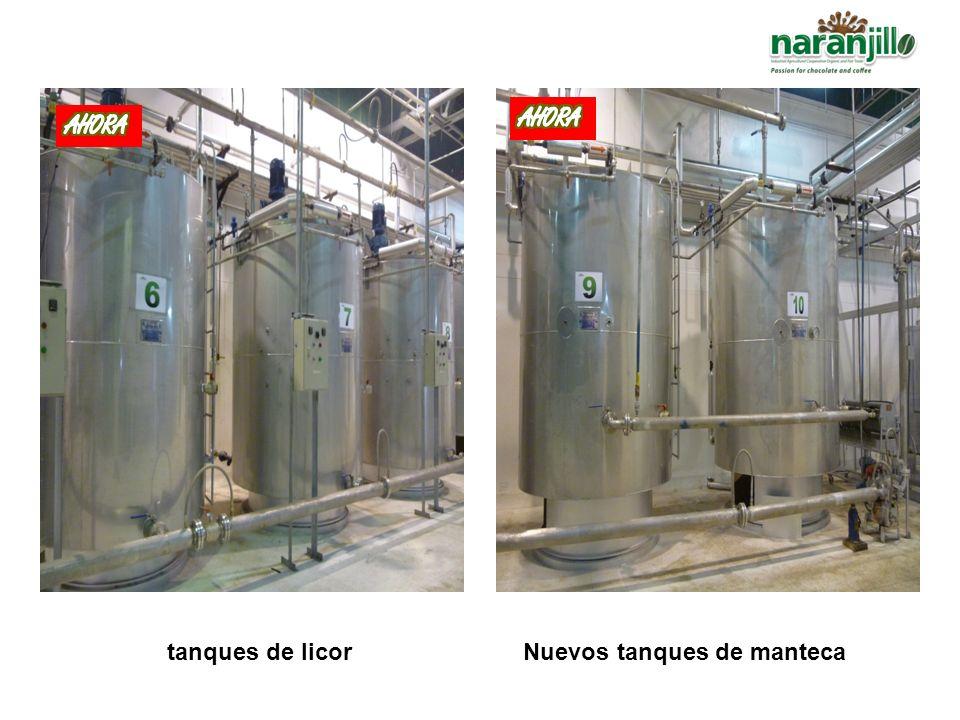 10 Nuevos tanques de licor02 Nuevos tanques de manteca