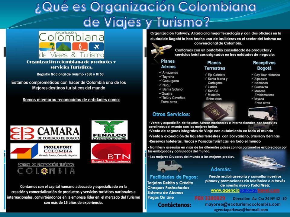 MISIÓN Trabajamos para hacer de Colombia uno de los mejores destinos del mundo.