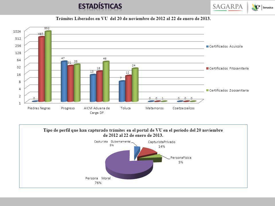 Problemática detectada en las 6 OISAS que operan en VU Inicio de operaciones en la VU- 20 de noviembre de 2012