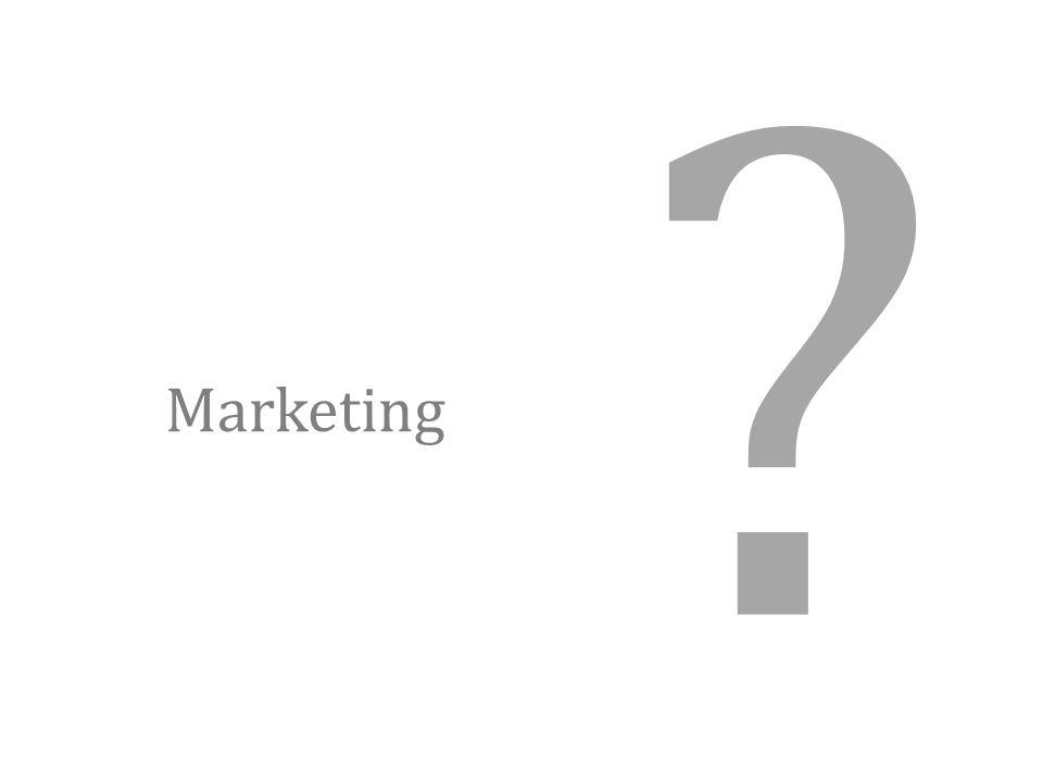 Marketing ?