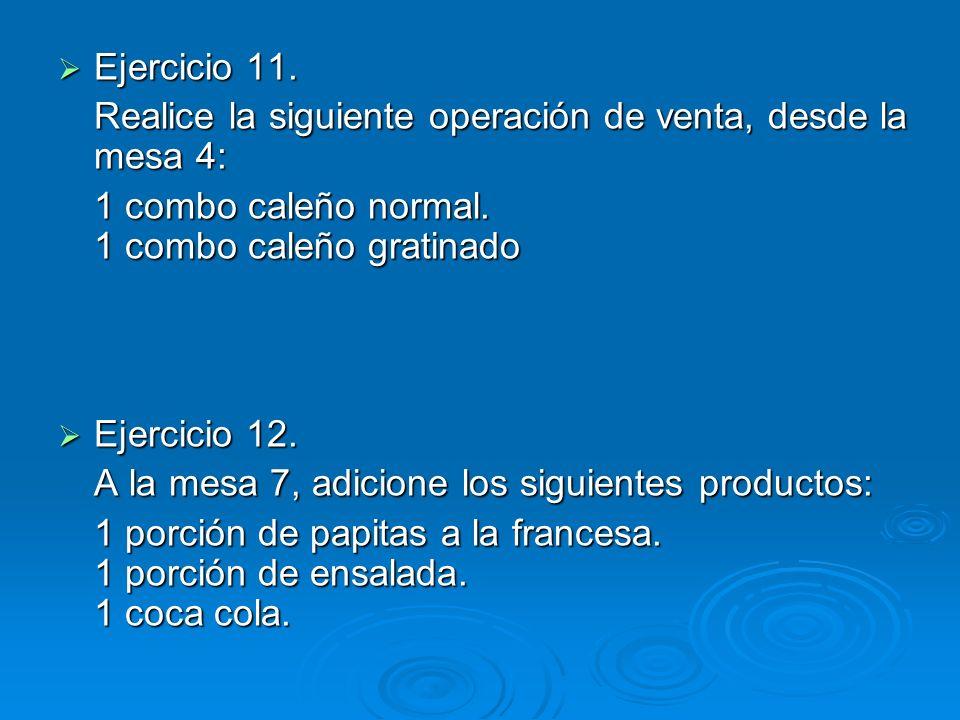 Ejercicio 11. Ejercicio 11.