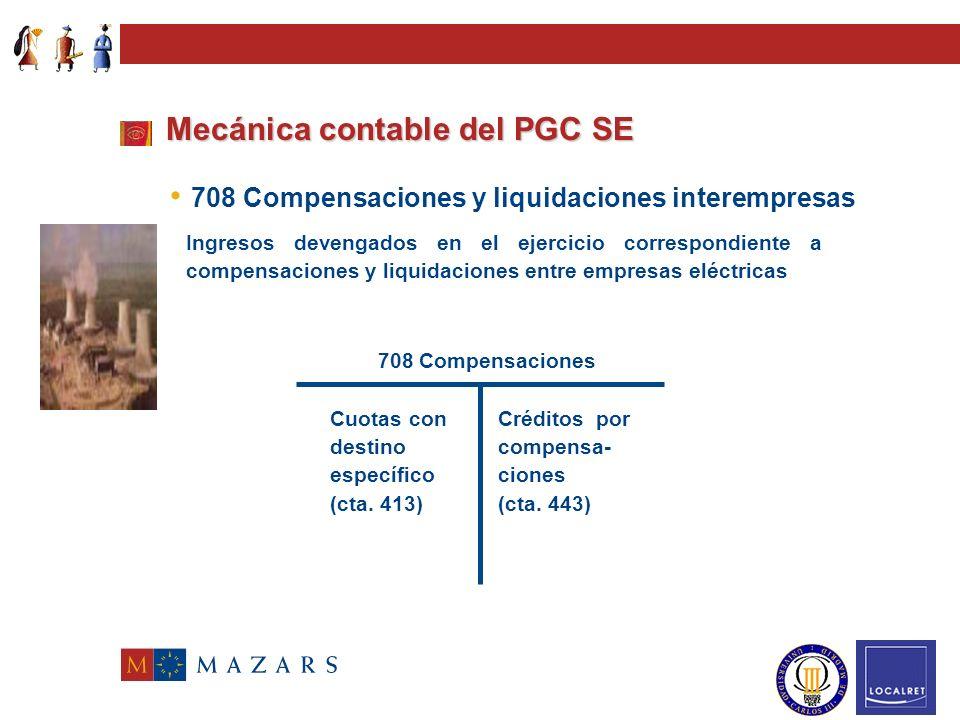 Mecánica contable del PGC SE 700/706 Ventas de …... Transacciones con salida o entrega de los bienes o servicios objeto del tráfico de la empresa, ten