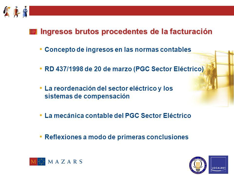 Ingresos brutos procedentes de la facturación Proyecto modificación Art. 24 Ley 39/1988 Dr. Ignacio Casanovas Parella Catedrático de Economía Financie
