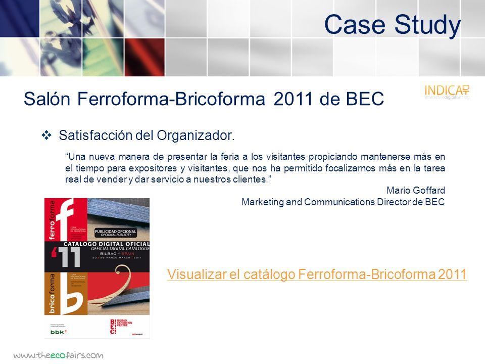Case Study Satisfacción del Organizador.