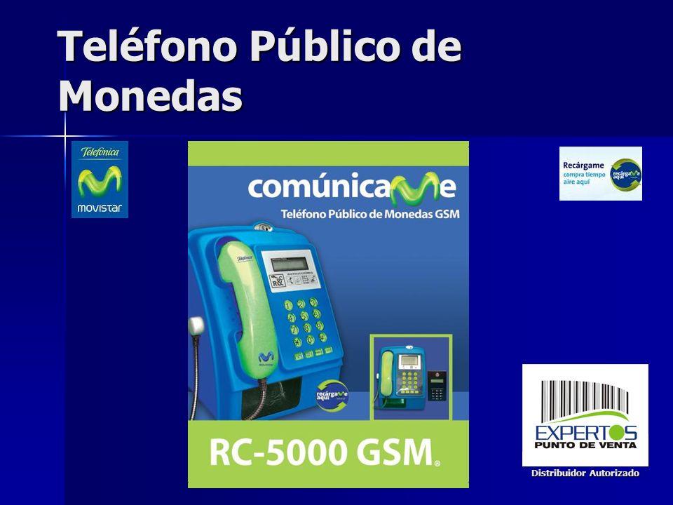 Teléfono Público de Monedas Distribuidor Autorizado