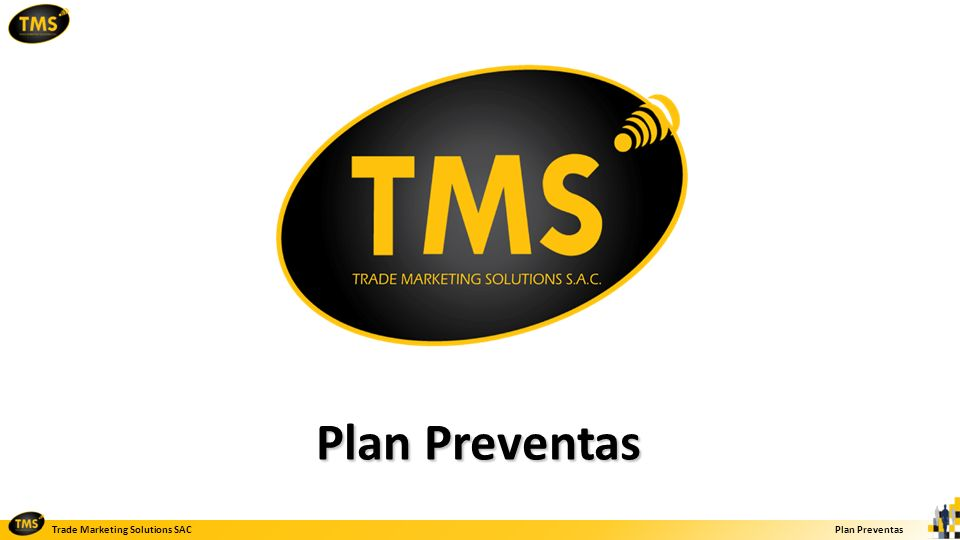 Trade Marketing Solutions SACPlan Preventas Preventa