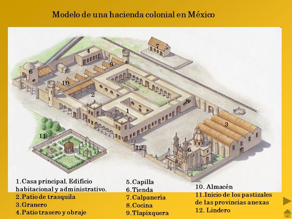 1.Casa principal.Edificio habitacional y administrativo.