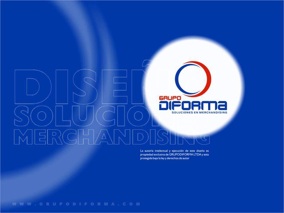 GRUPO DIFORMA, es una empresa especializada en merchandising, cuyo propósito es asesorar a nuestros clientes, generando soluciones efectivas y diferenciadoras de comunicación en punto de venta.