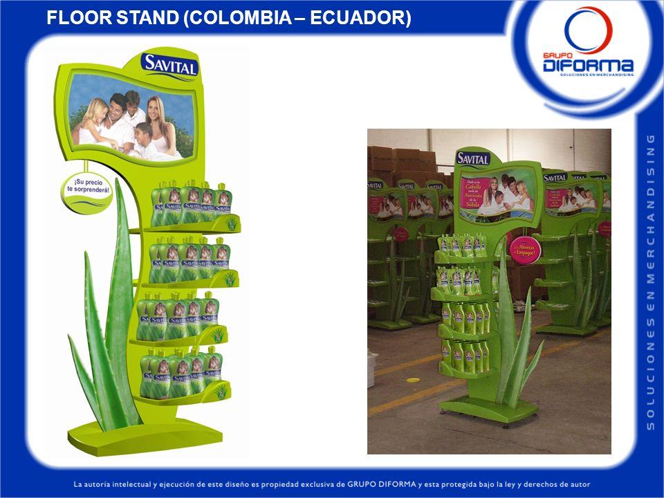 FLOOR STAND (COLOMBIA – ECUADOR)