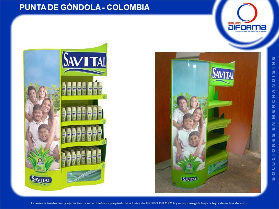 PUNTA DE GÓNDOLA - COLOMBIA