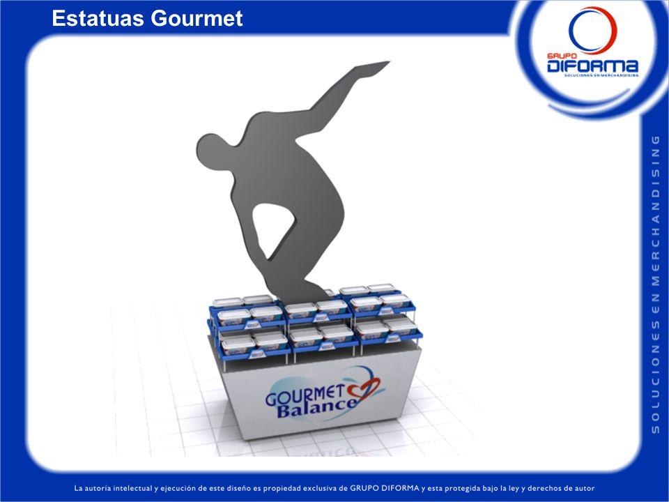 Estatuas Gourmet
