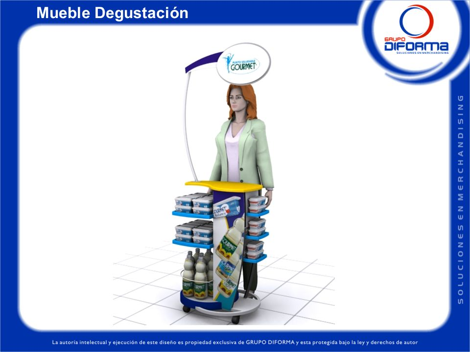 Mueble Degustación