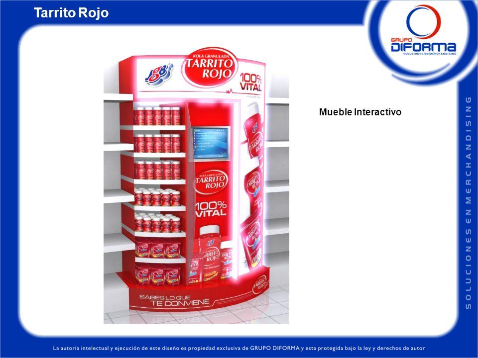 Tarrito Rojo Mueble Interactivo