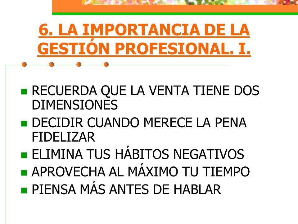 7.LA IMPORTANCIA DE LA GESTIÓN PERSONAL. II.