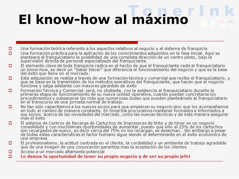 El know-how al máximo Una formación teórica referente a los aspectos relativos al negocio y al sistema de franquicia Una formación práctica para la aplicación de los conocimientos adquiridos en la fase inicial.
